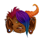 Completely Random Troll Gnome Head by Hot-Gothics