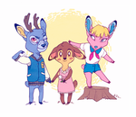 -ACNL Deer Friends- by HennaLucas