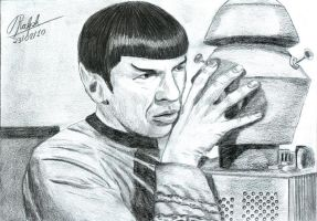 Spock And Nomad by Ralphmax
