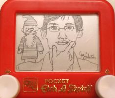 Neil Cicierega etchasketch 2 by pikajane