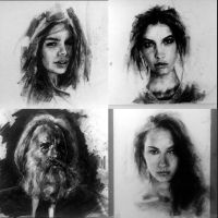 Charcoal Portraits by StefanRess