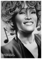 Whitney Houston by djoasia
