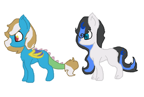 Luna Discord Foals by Kyah-Pony-Adoptables