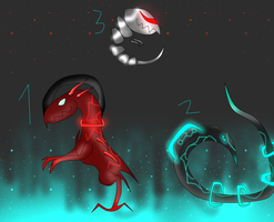 Sci-Fi Creature Adopts (Open) by Dragonrage19