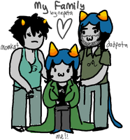 My Family by Nepeta Leijon by ElectricCamel