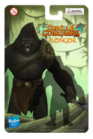 Kongor!!  Action Figure Packaging! by RoyalFiend
