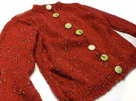 Buttons Baby Jacket by riizu