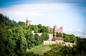 Tilt Shift Castle by gabolos