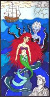 The little mermaid by wiegand90