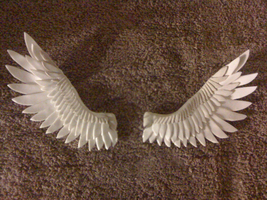 Sculpey Wings by SaturnGrl