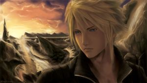 Cloud Strife - FF VII AC by chaosringen