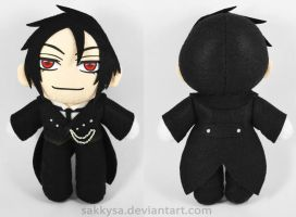 Sebastian Michaelis Plush by sakkysa