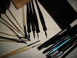 :: Tools of the Trade :: by underwoodwriter
