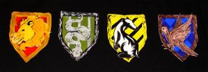 HP : House Badges by lexarch