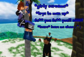 MMD Saxor Hate Big Doggys by sophloulou