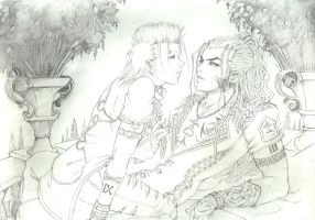 XALDIN x DEMYX - Fanart - Beauty and Beast by Shinkan-Seto