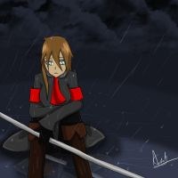 APH- Soviet Empire -Stand in the rain by annathewerewolf