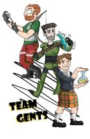 Team Gents by guavajagular