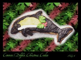 X-mas Dolphin Cookie by Rebmakash