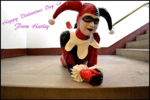 Happy Harley Valentines by XeraMiyanara