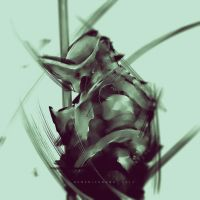 30mins Speedpaint Throne Guard by benedickbana