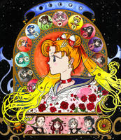 Sailor Moon Zodiac Colour by littlemooglet