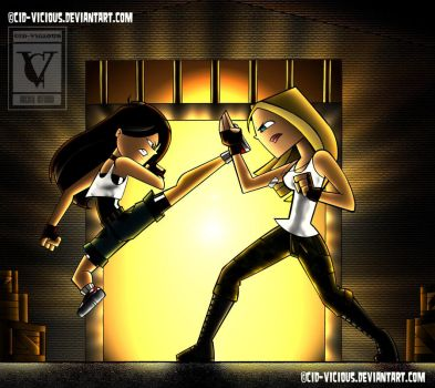 Gil vs. Katherine by Cid-Vicious