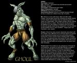 GHOUL BIO PAGE by Eggplantm