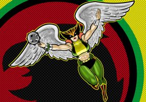 HawkGirl Prestige Series by Thuddleston