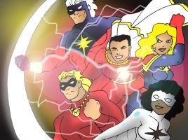 The Captains Marvel by Koku-chan