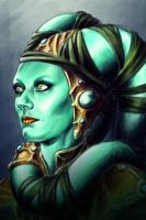 Twilek Portrait by Raenyras