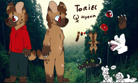 New ref sheet of Toriel ! ! ! by Choco-Furries