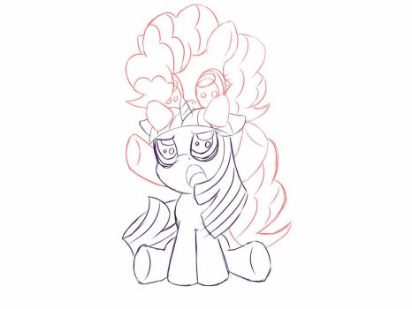 filly twinkle sketch by shadowhawx95