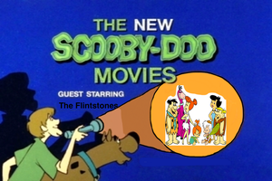 Scooby-Doo meets The Flintstones by darthraner83