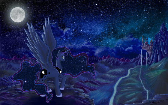 Luna Wallpaper by duop-qoub