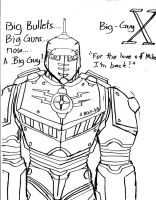 Big guy X by Johncleric