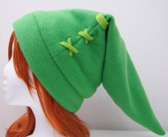 The Link and Kokiri Kid Hat by TheBunnyCafe