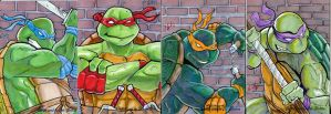TMNT Sketchcards by ErikHodson