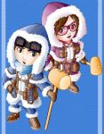 The Ice Climbers by Kevichan