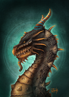 *Egyptian_Dragon* by Anant-art