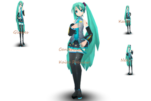Project Diva Kaito Previews by Pink-Heart-Pri