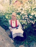 Finnish national costume by Minniwelle
