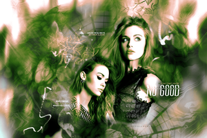 Green 'No good' (header) by Sophie Black by blackyyy6