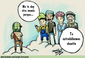 Homenaje a Chespirito by Waight14