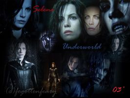 Underworld Selene by ForgottenFaery