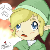 Link, Watch Out by oober-zombie