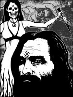 Charles Manson - Killers Gallery by voidpulp