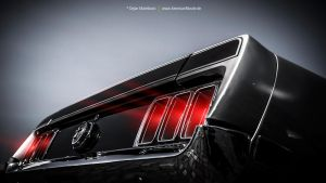 1970 Mustang - Rear Lights by AmericanMuscle