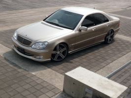 Wald Mercedes-Benz S-Class W22 by TheCarloos