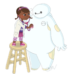 time for Baymax's checkup! by cfmv